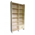 Six Tier Open Bookshelf With 12 Boxes and One Drawer